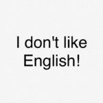 中学生が英語が嫌いになる理由