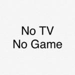 テレビは見ない、携帯ゲームも無し